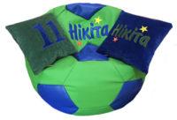 кресло мяч с именем, подушка