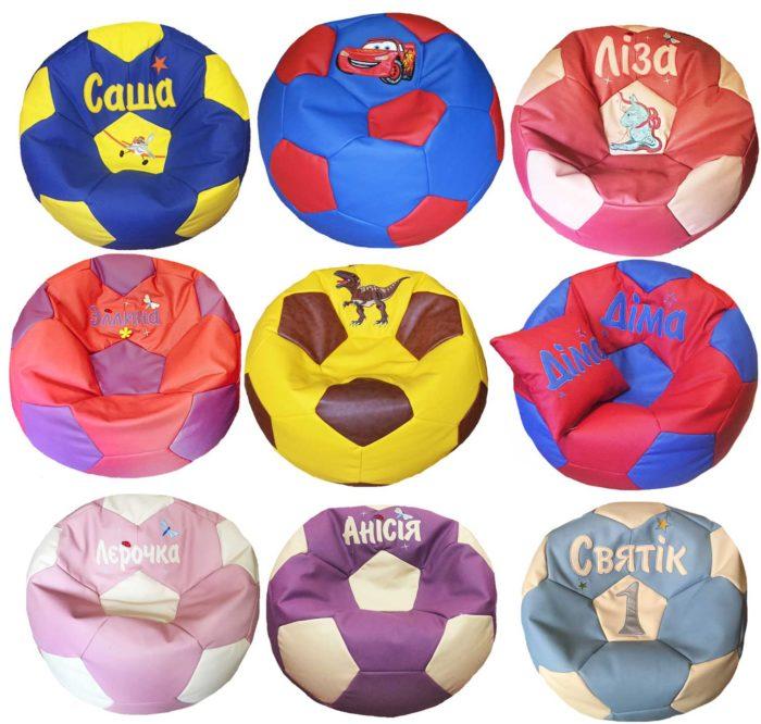 кресло-мяч бескаркасная мебель пуфик