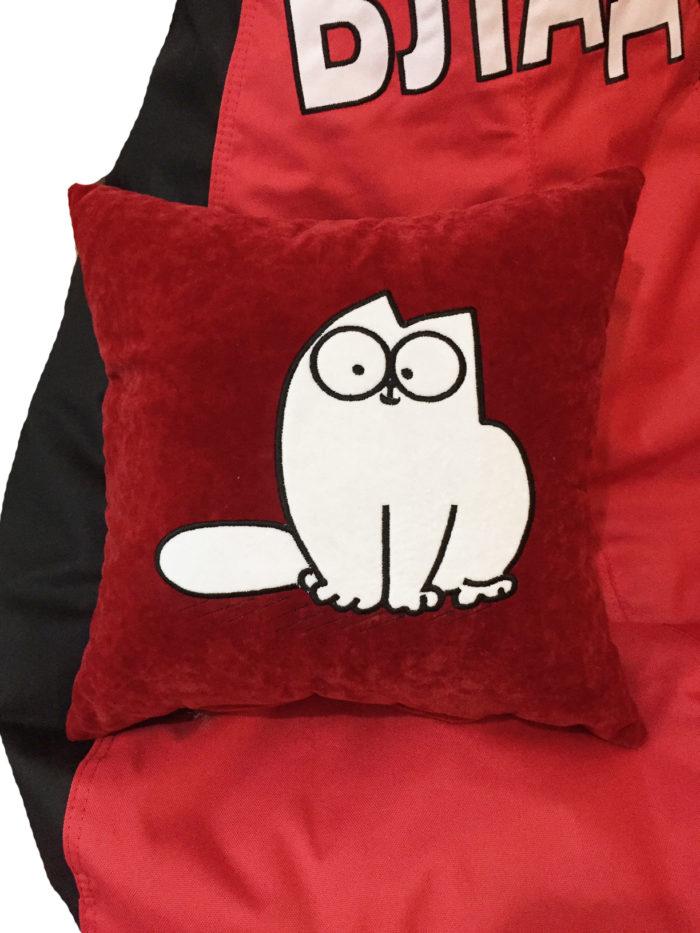 подушка кот саймон