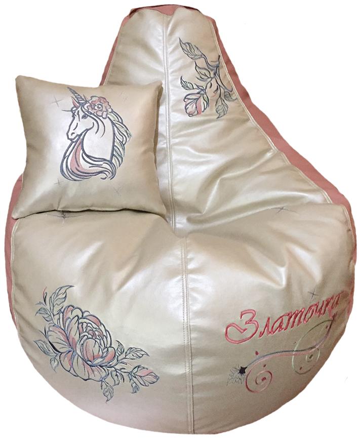 кресло-мешок пуф единорог